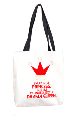 Drama Queen Tote Bag (Holiday) Tote Bags at VIP Swag