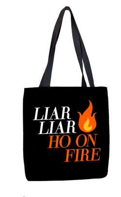 Liar Liar Tote Bag Tote Bags at VIP Swag