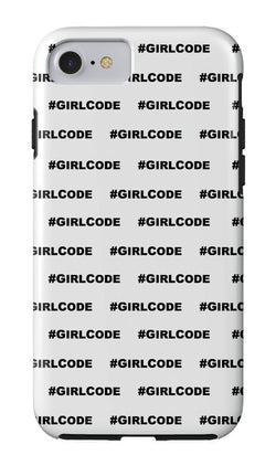 #GIRLCODE (Pattern) iPhone Case at VIP Swag