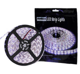 Cool White 5050 SMD Waterproof 5m Flexible Bright 12V LED Strip Lights 300 LEDs