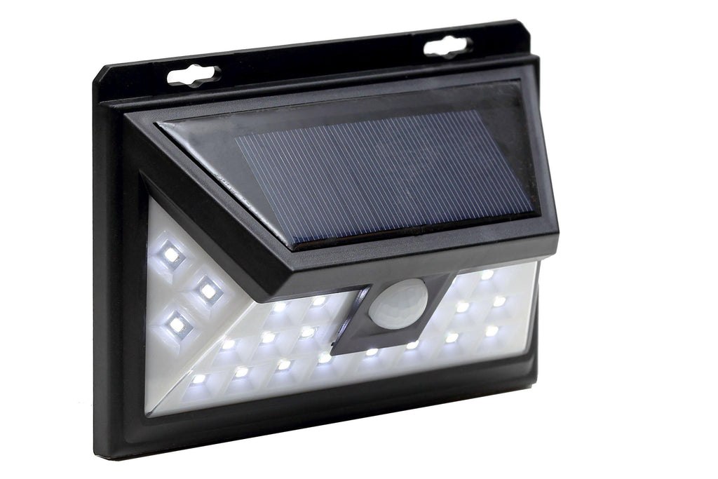 Waterproof Solar LED Wall Lights, PIR Motion Sensor 24 LEDs For Outdoor Security