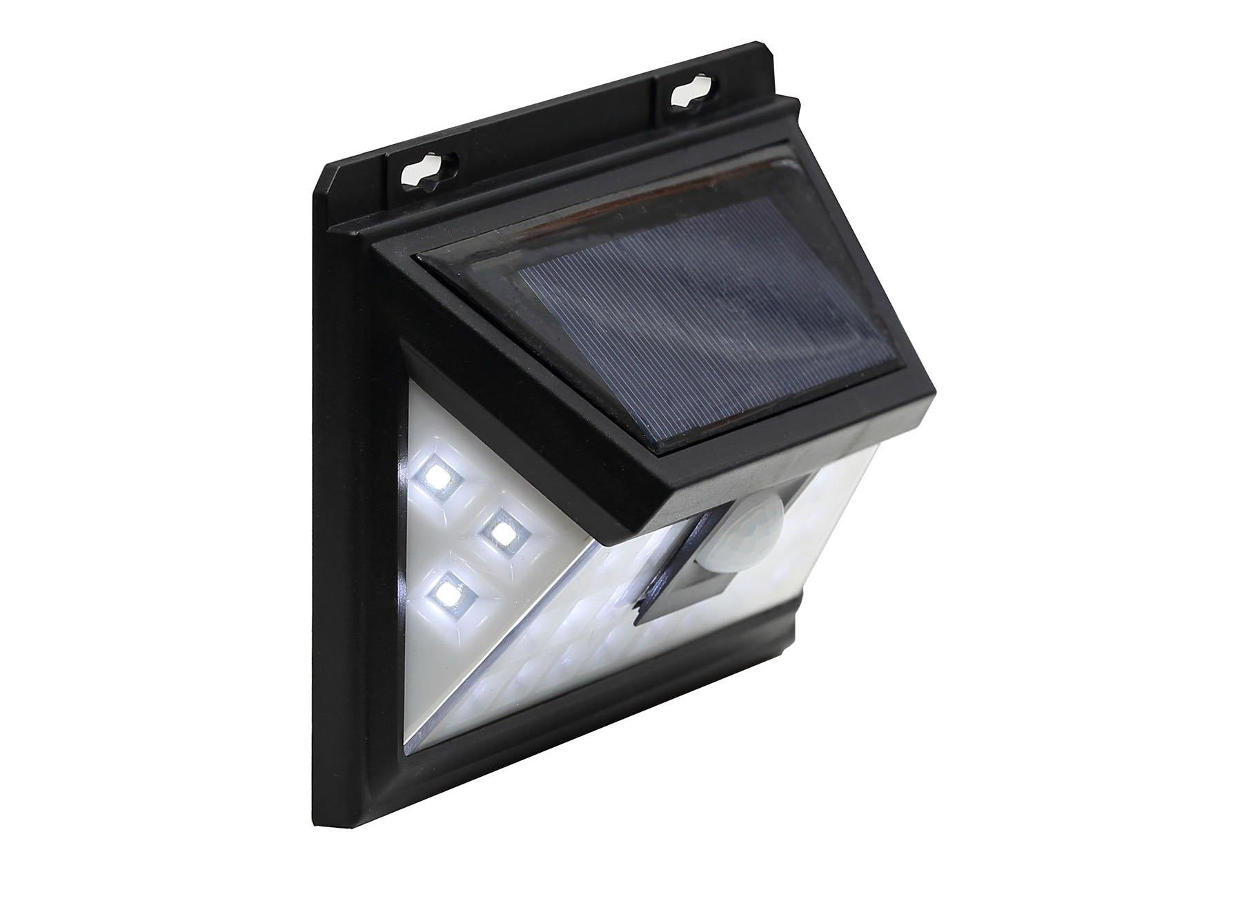 Waterproof Solar Led Wall Lights Pir Motion Sensor 24 Leds For Light Switch With Security Outdoor