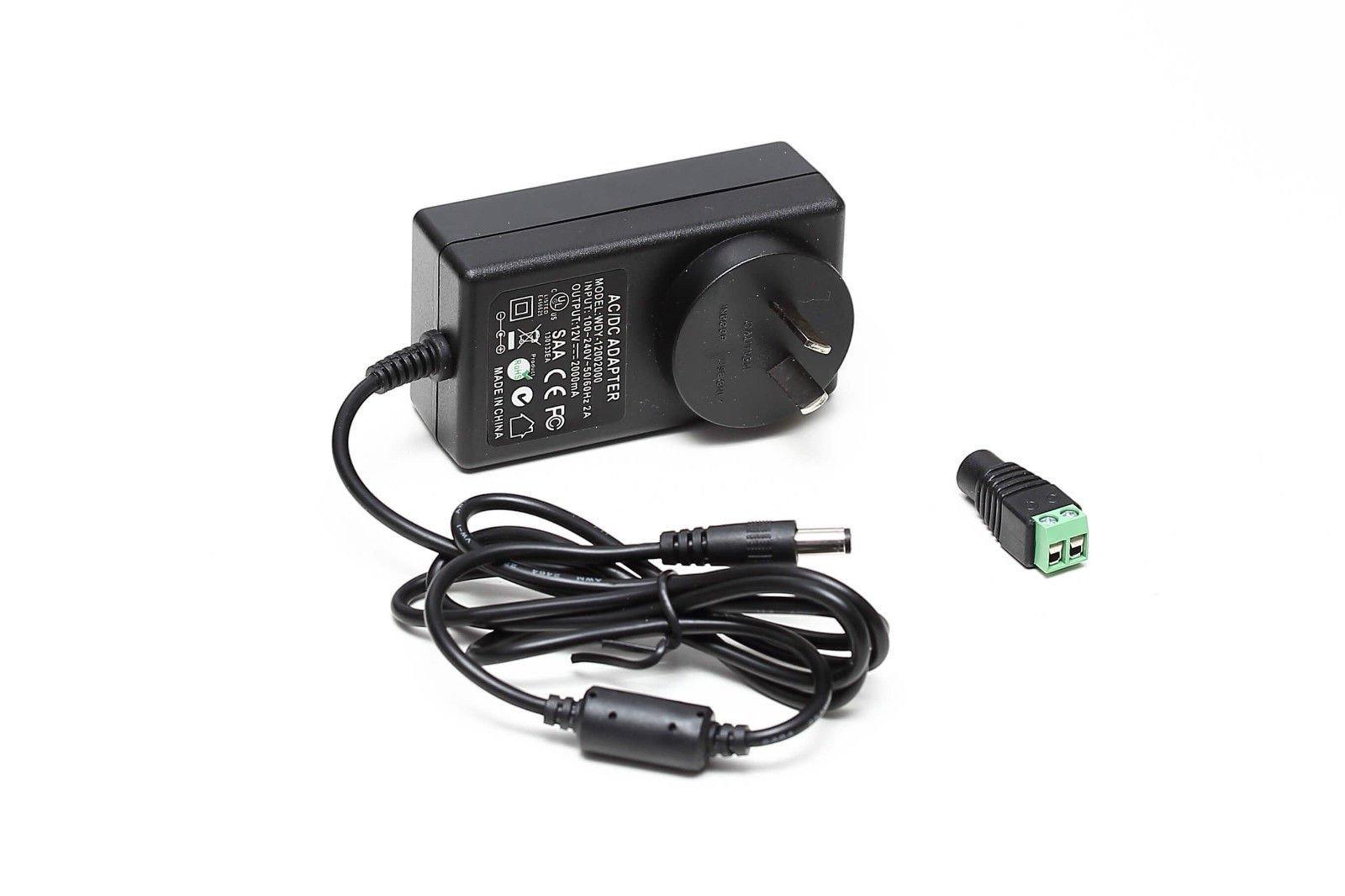 12V 3A (36 Watts) Power Supply Adapter For LED Lights – renkco