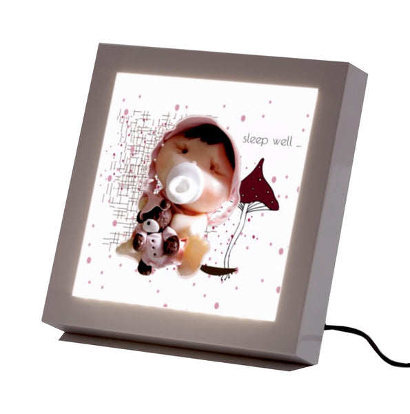 """Safe Dreams"" Baby Led Frame"