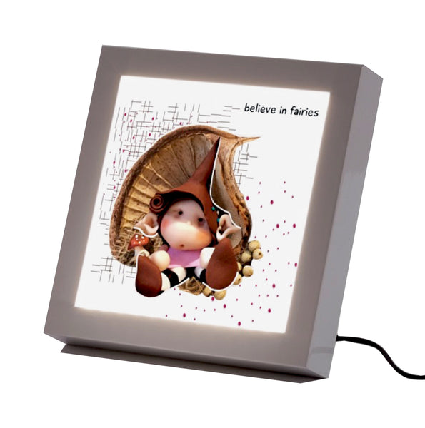 """Safe Dreams"" Led frame"