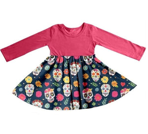Sweet Sugar Skulls Dress - MCB Halloween 2020