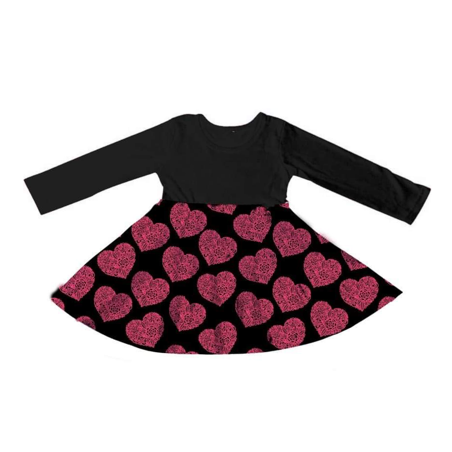 Pocket Full of Hearts Dress - Miracles Valentines Collection