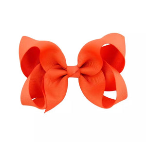 Orange Simply Solid Bow