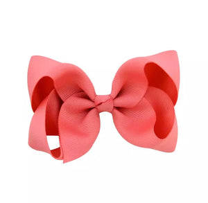 Melon Pink Bow  - MCB Essentials