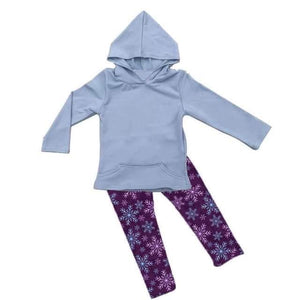Snowflake Activewear Set - Miracles Winter Collection