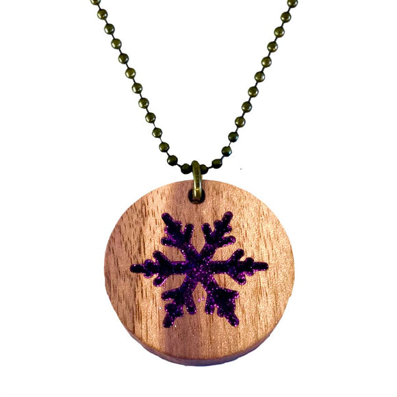 Snowflake Necklace - MCB Winter Collection