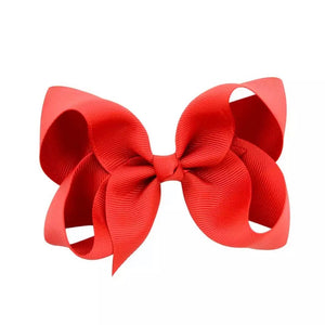 Red Simply Bow  - MCB Essentials