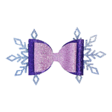 Snowflake Bow - MCB Winter Collection
