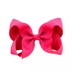 Hot Pink Simply Solid Bow