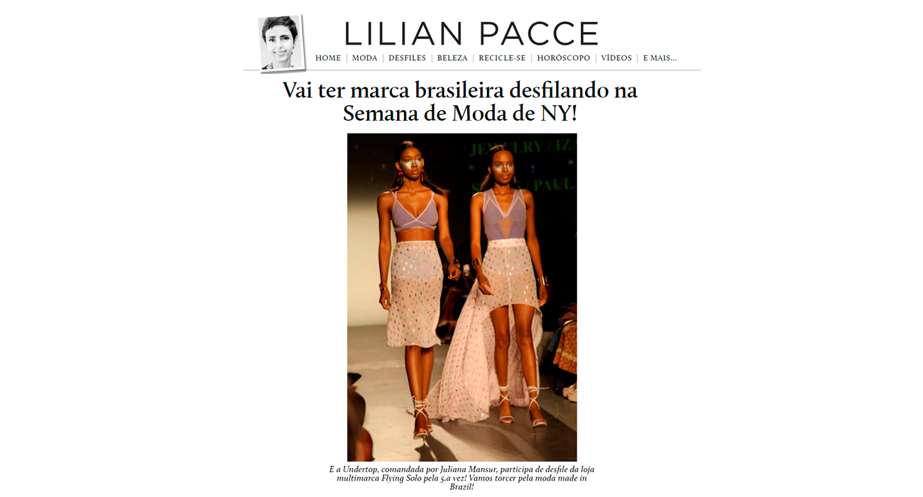 Undertop na Lilian Pacce