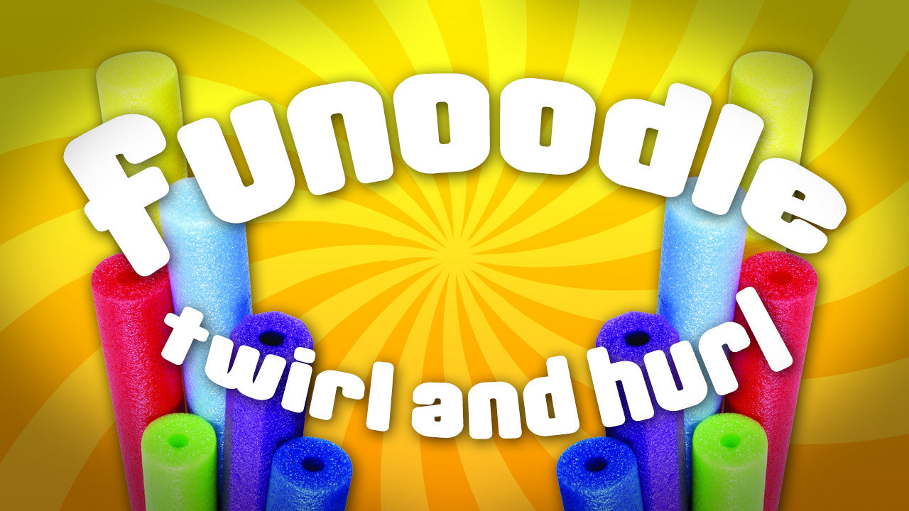 Kids Church Game: Funoodle Twirl and Hurl