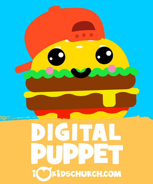 Coolburger Digital Puppet
