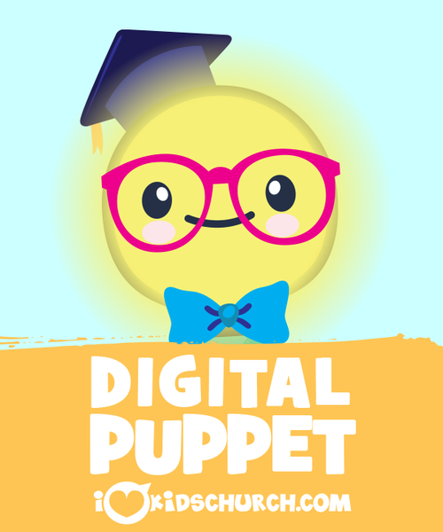 Mr. Bright Digital Puppet