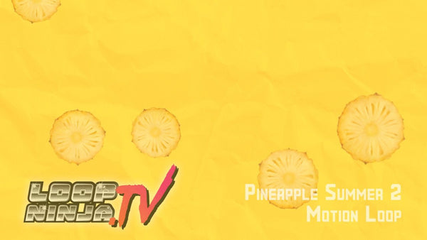 Pineapple Summer 2 Motion Loop