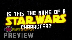 Is This The Name of a Star Wars Character? Presentation Game