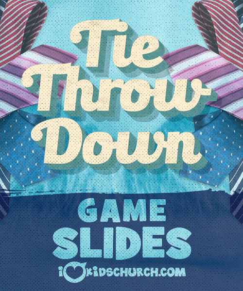 Tie Throw Down Game Slides