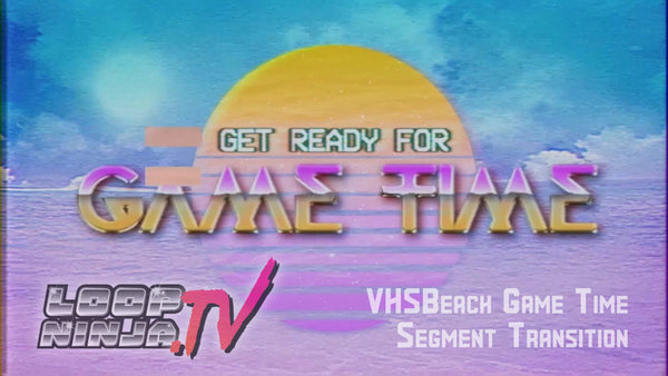 VHSBeach Game Time Intro