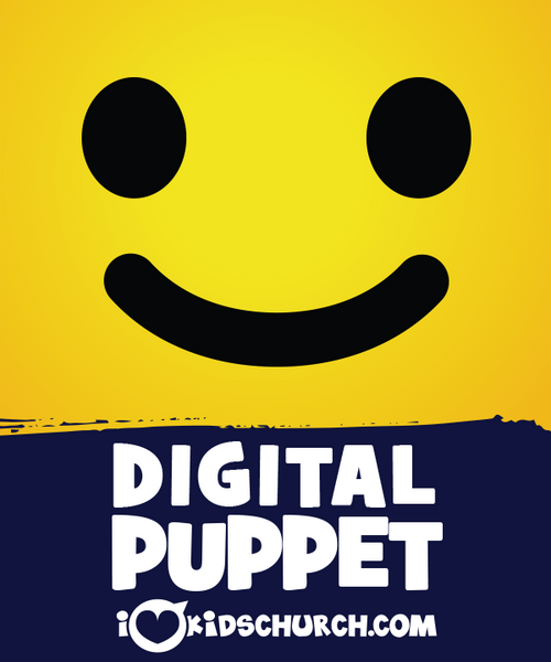 Yellow Digital Puppet