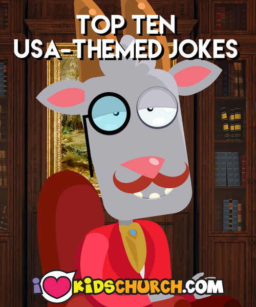 Professor Goatly's Book of Lists: Top Ten USA-Themed Jokes