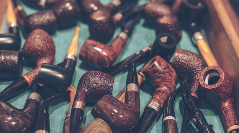 Different Tobacco Smoking Pipe Types