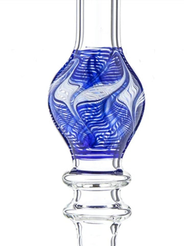 Image of Fat Buddha Glass Accessories Blue 14mm Nectar Collector