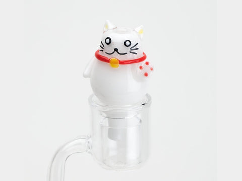 Empire Glassworks Accessories Empire Glassworks Zen Kitty Bubble Carb Cap