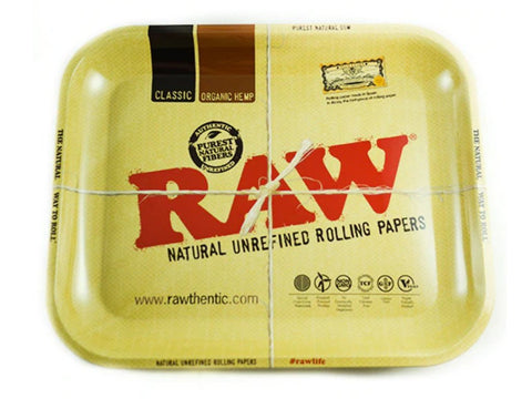 Raw Accessories Large Raw High Sided Rolling Tray