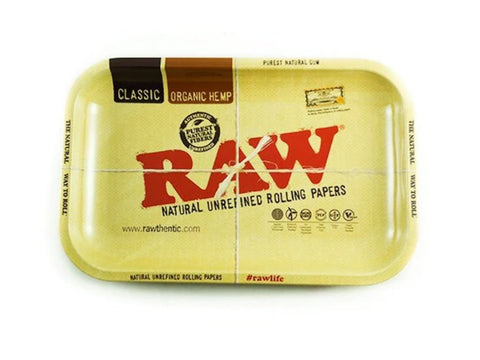 Image of Raw Accessories Medium Raw High Sided Rolling Tray