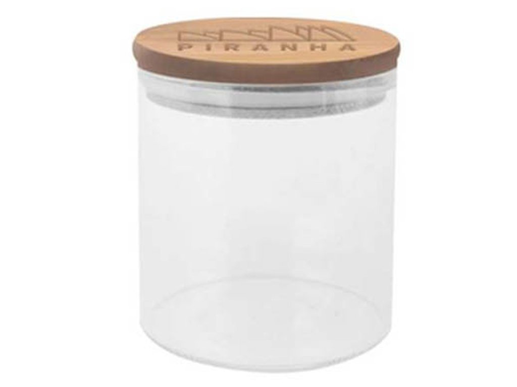 Piranha Storage Jar w/Bamboo lid