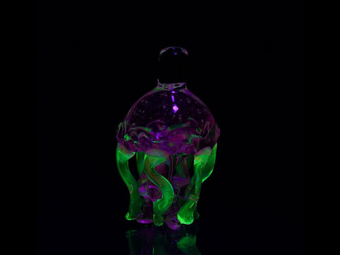 Empire Glassworks Accessories UV Jellyfish Carb Cap