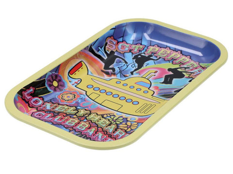 Famous Brandz Accessories Yellow Submarine Rolling Tray