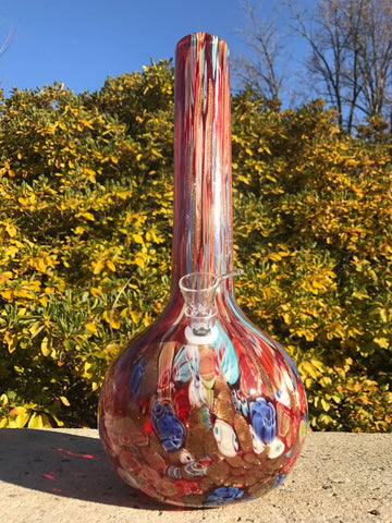 "Fat Buddha Glass Bong 14"" Milli Glass Bong"