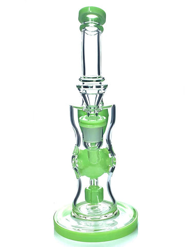 Image of Fat Buddha Glass Bong Fab Egg Recycler