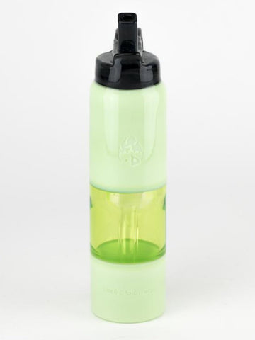 Image of Empire Glassworks Bong Lime Water Bottle Bong