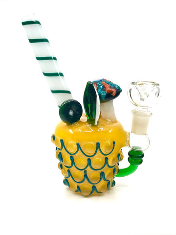 Fat Buddha Glass Bong Pineapple Express - Mini Rig