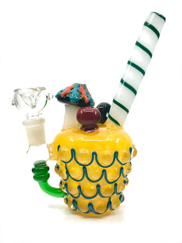 Image of Fat Buddha Glass Bong Pineapple Express - Mini Rig