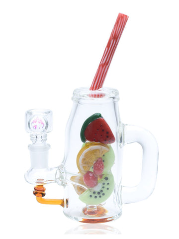 Image of Empire Glassworks Bong Watermelon Detox Rig