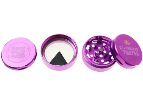 Image of Fat Buddha Glass Granddaddy Purple Grinder