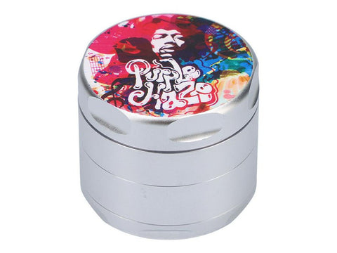 Fat Buddha Glass Jimi Hendrix 4pc Grinder