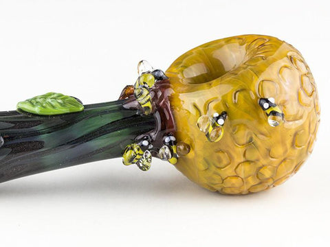 Empire Glassworks Pipe Beehive Large Spoon Pipe