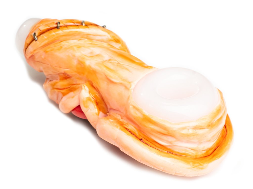 Fat Buddha Glass Pipe Big Mouth Pipe