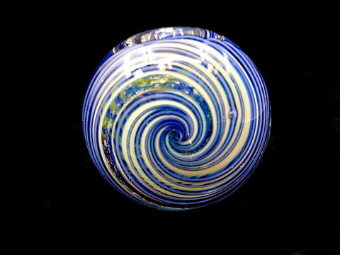 Fat Buddha Glass Pipe Dichroic Spiral Glass Pipe