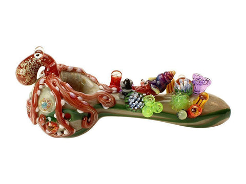 Empire Glassworks Pipe Empire Glassworks Finding Kraken Pipe