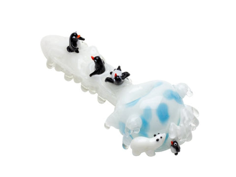 Empire Glassworks Pipe Empire Glassworks Icy Penguins Pipe