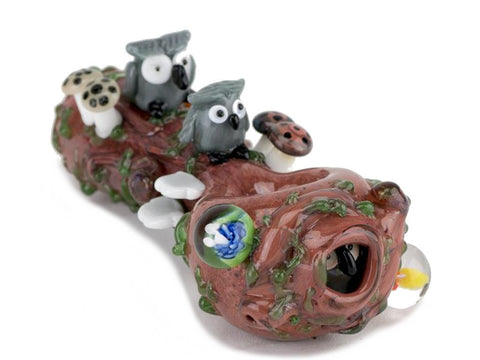 Empire Glassworks Pipe Hooties Forest Pipe